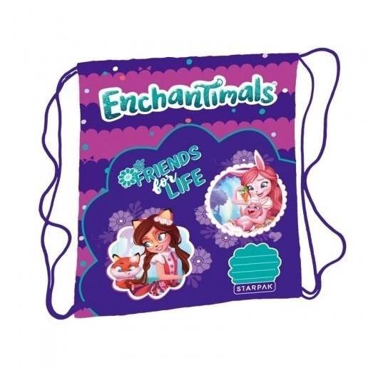 Worek szkolny na ramię Enchantimals