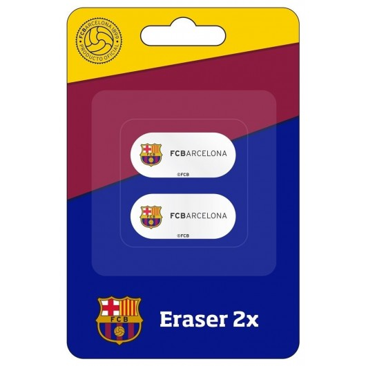 Gumka 2 sztuki FC Barcelona