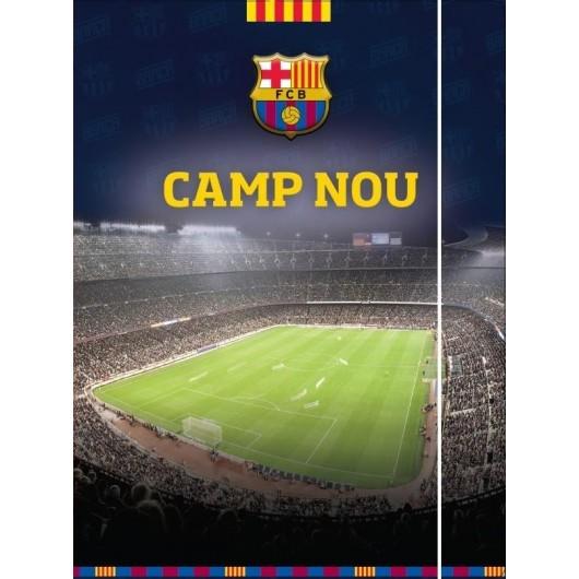 Teczka A4 z gumką FC Barcelona