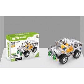Metalowe klocki konstrukcyjne Jeep