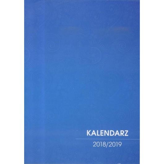 Kalendarz Nauczyciela 2018/2019 niebieski