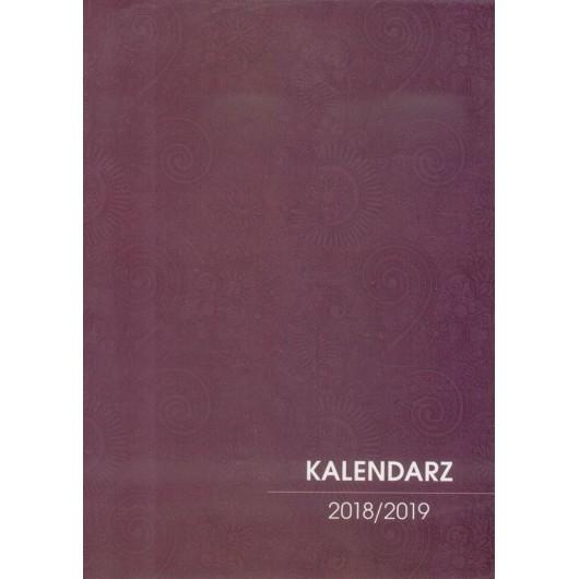 Kalendarz Nauczyciela 2018/2019 brązowy