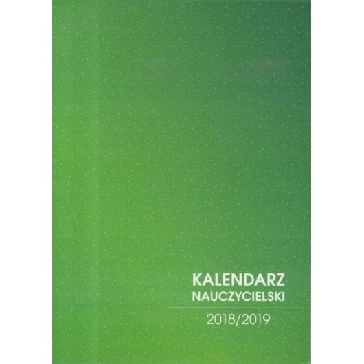 Kalendarz Nauczyciela 2018/2019 zielony