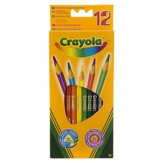 Kredki ołówkowe 12 szt. CRAYOLA