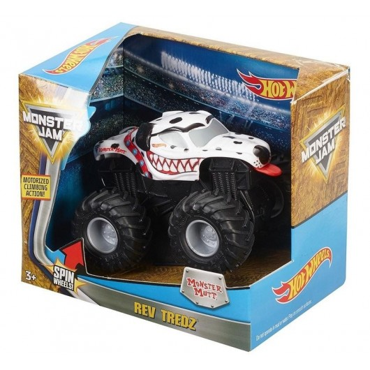 Hot Wheels Monster Jam Monster Mutt Rev Tredz