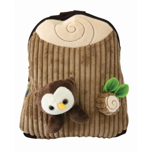 Plecak dziecięcy plush mały brown STREET