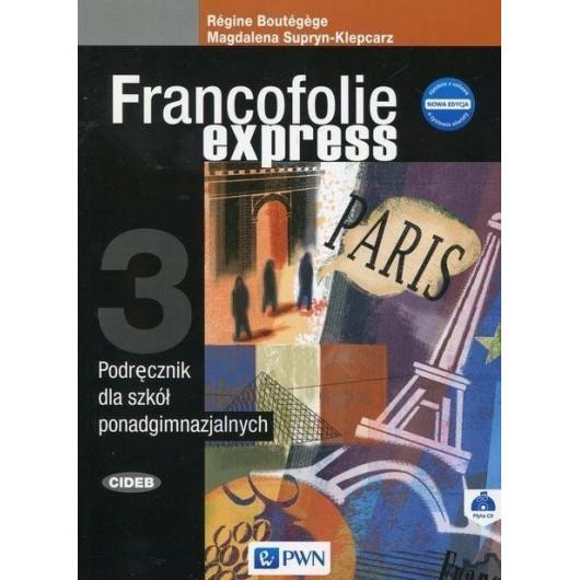 Francofolie express 3 Nowa edycja SB + CD PWN