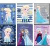 Zeszyt A5/54K kratka Frozen Glitter (10szt)