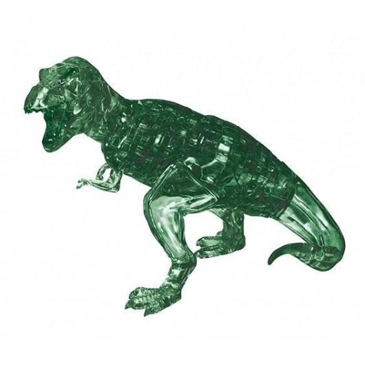 Crystal Puzzle Dinozaur T-Rex zielony