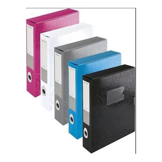 Teczka box A4 Tai-Chi niebieska