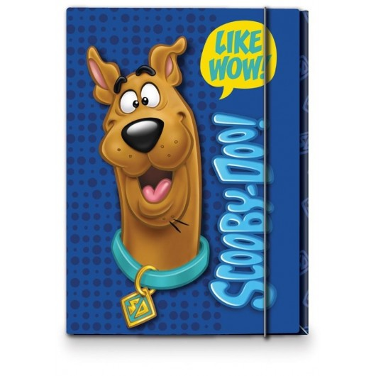 Teczka A4 z gumką Scooby Doo