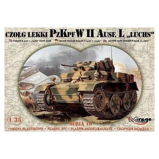 "Lekki Czołg PZKPFW II ""LUCHS"""