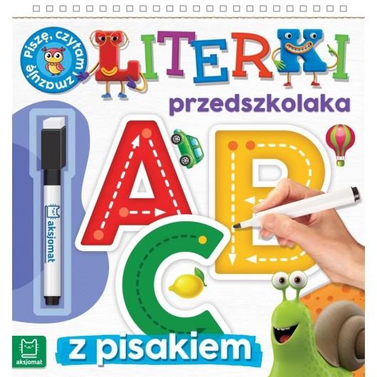 Literki przedszkolaka 5-6 lat, seria z pisakiem...