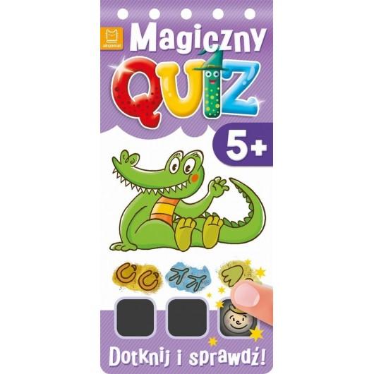 Magiczny quiz. Dotknij i sprawdź od 5 lat cz. 2