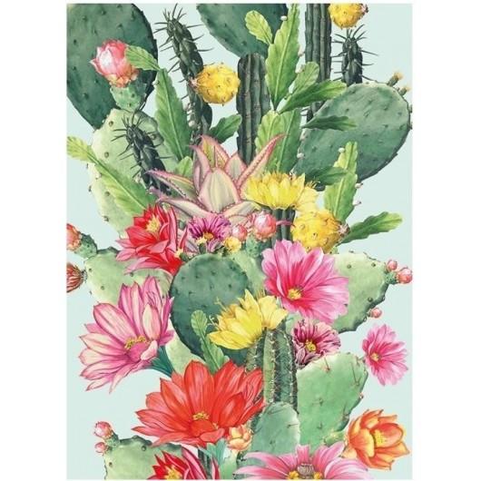 Karnet B6 z kopertą Cactus Flower