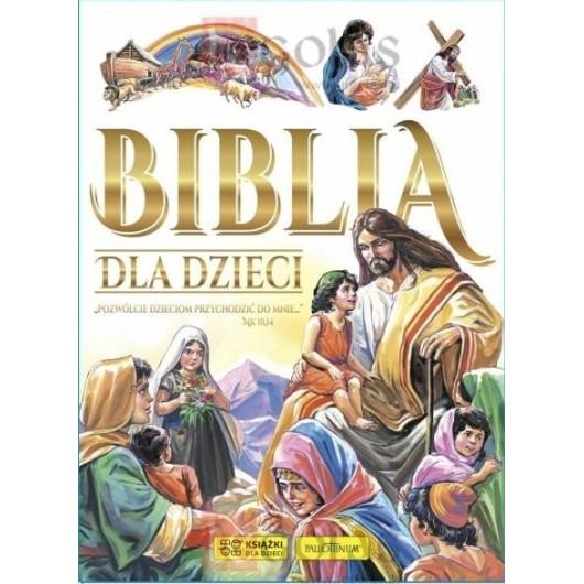 Biblia dla dzieci (biała)