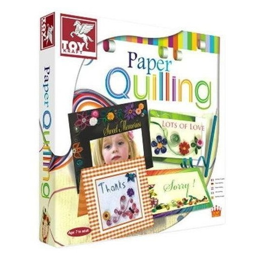 Quilling Karty TOY KRAFT