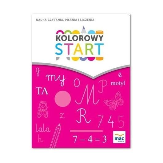Kolorowy start. 5 i 6 latki. Nauka czytania... MAC