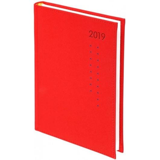 Kalendarz 2019 A5 Tyg. Cross Porto Czerwony