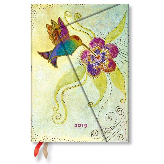 Kalendarz książkowy midi 2019 12M Hummingbird