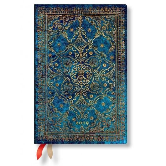 Kalendarz książkowy midi 2019 12M Azure