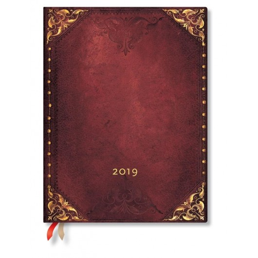 Kalendarz książkowy ultra 2019 12M Urban Glam