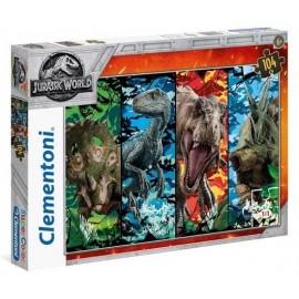 Puzzla 104 Supercolor Jurassic World