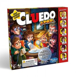 Cluedo Junior - gra planszowa