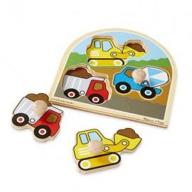 Puzzle drewniane pojazdy - Melissa & Doug 13395