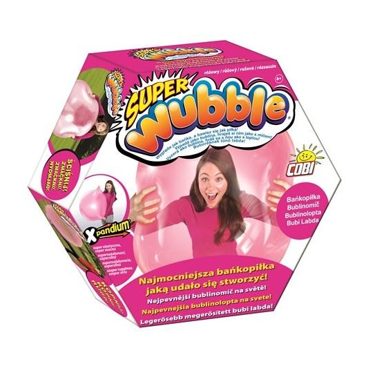 Cobi Wubble Super Bańkopiłka 80910B Różowa