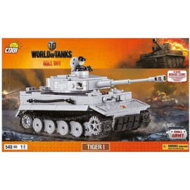 COBI World of Tanks Tiger I 540 kl. (3000)