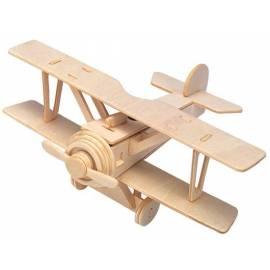 Łamigłówka drewniana Gepetto - Dwupłatowiec (Double-Decker)