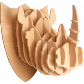 Łamigłówka drewniana Gepetto - Głowa nosorożca (Rinoceros head)