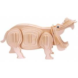 Łamigłówka drewniana Gepetto - Hipopotam (Hippopotamus)