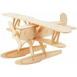 Łamigłówka drewniana Gepetto - Hydroplan (Seaplane)