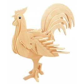 Łamigłówka drewniana Gepetto - Kogut (Rooster)
