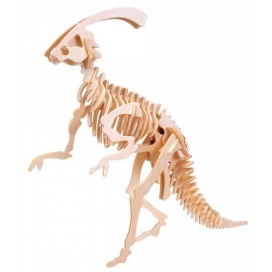 Łamigłówka drewniana Gepetto - Parazaurolof (Parasaurolophus)