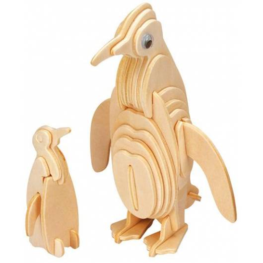 Łamigłówka drewniana Gepetto - Pingwin (Penguin)