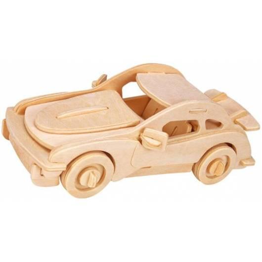 Łamigłówka drewniana Gepetto - Samochód sportowy (Sports car)