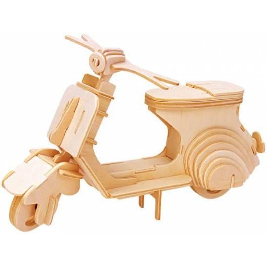 Łamigłówka drewniana Gepetto - Skuter (Scooter)