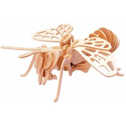 Łamigłówka drewniana Gepetto - Trzmiel (Bumblebee)