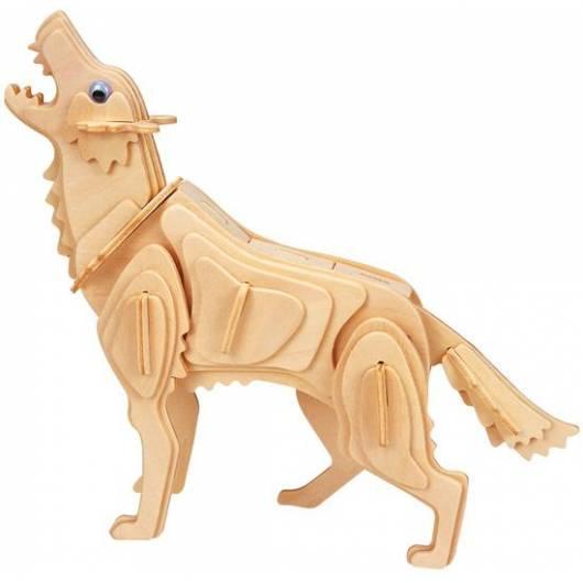 Łamigłówka drewniana Gepetto - Wilk (Wolf)