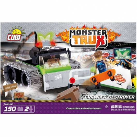 COBI Monster Trux Crawler Destroyer