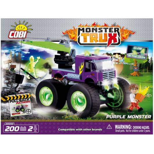 COBI Monster Trux Purple Monster