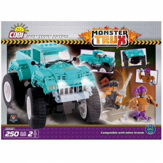 COBI Monster Trux Iron Town Patrol