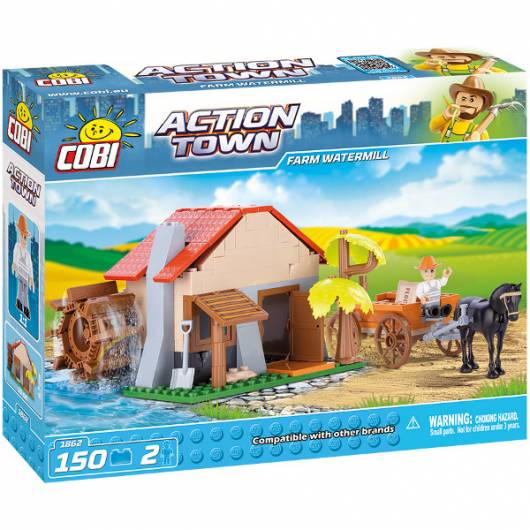 COBI Action Town Farm watermill 150 kl