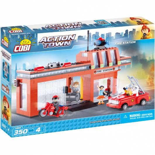 COBI Action Town Depot Straży Pożarnej