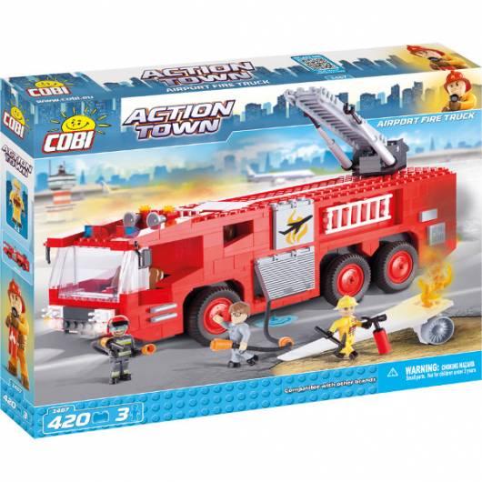 COBI Action Town Lotnisko Fire Truck