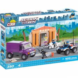 COBI Action Town Napad na bank 350 kl. (1566)