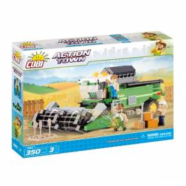 COBI Action Town Kombajn Eco Power 350 kl. (1866)